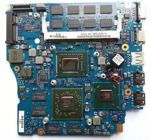 ремонт материнской платы ноутбука Sony