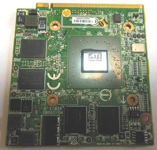 видеокарта ATI HD3650 MXMII