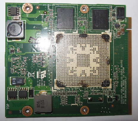 ремонт видеокарты ноутбука Lenovo