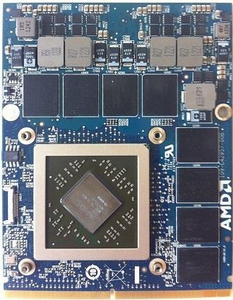 ремонт модульной видеокарты MXM