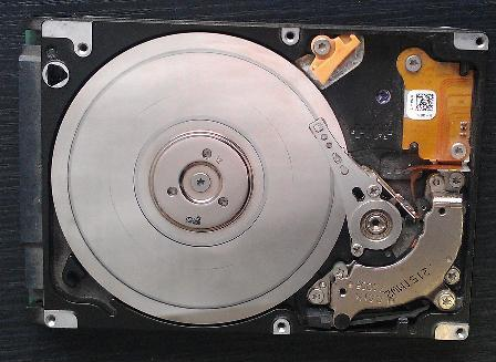 ремонт жесткого диска ноутбука Dell