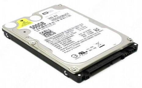 ремонт жестких дисков ноутбуков