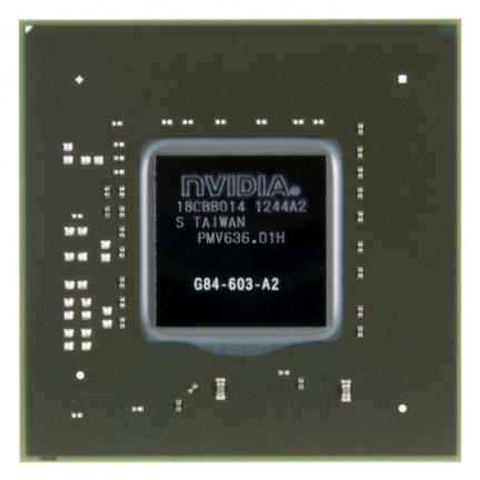 Новый чип GeForce 8600GT