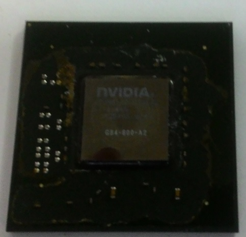 чип GeForce 8600GT