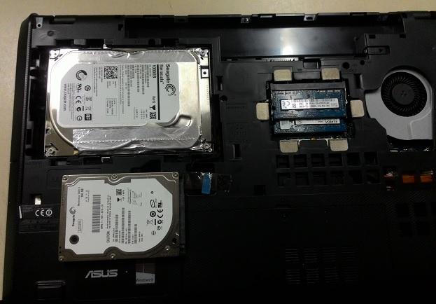 Ремонт ноутбука Asus K95V