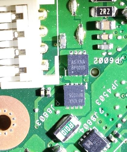 ремонт питания материнской платы Asus X55c